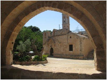 Agia Napan luostari Kypros Ayia Napa