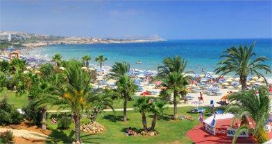 kuva Agia Napa uimaranta Kypros loma matka