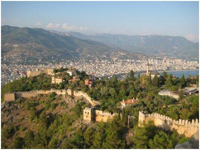 Alanya Kale linnoitus Turkki loma matka kuva