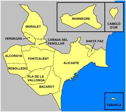 Espanja Costa Blanca Alicante Tabarcan saari