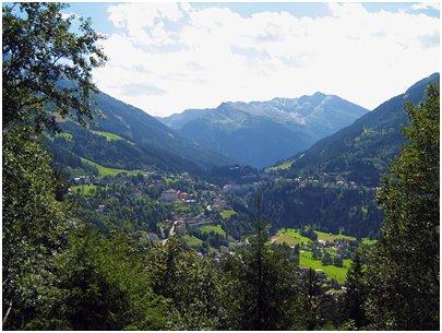 kuva Alpit Bad Gastein laakso Hohe Tauern loma matka Itävalta