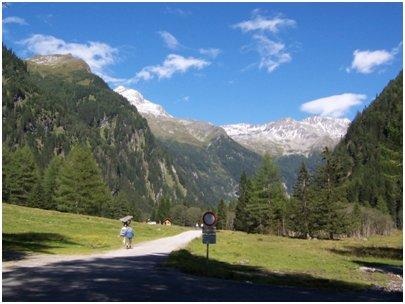 kuva Alpit Bad Gastein vaellus Hohe Tauernin kansallispuisto loma matka Itävalta