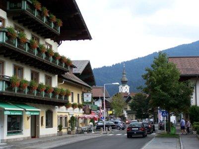 Altenmarktin kylä - Itävallan Alpit