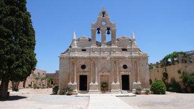 kuva Arkadi-luostari Kreeta matka