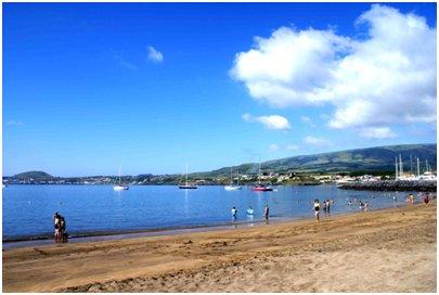 Azorit lomamatka - uimaranta Terceiran saarella