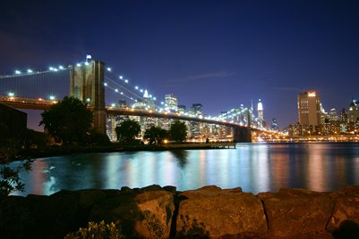 Brooklyn Bridge kuva New York USA Yhdysvallat loma
