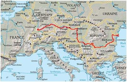 kartta Bulgaria sijainti