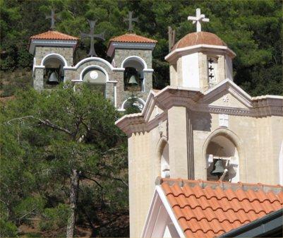 Bysanttilainen kirkko Troodos-vuoristossa - Kypros
