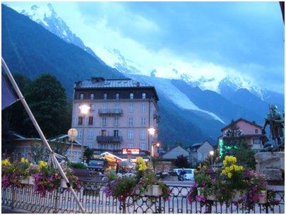 kuva Alpit Chamonix loma Ranska matka