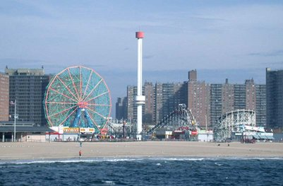 Coney Island kuva New York USA Yhdysvallat loma matka
