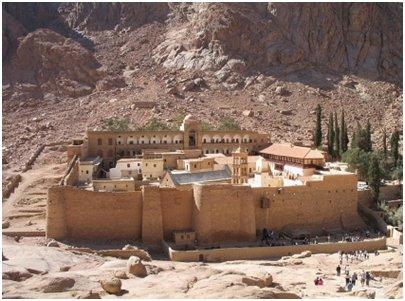Egypti Siinain luostari Pyhän Katariinan luostari
