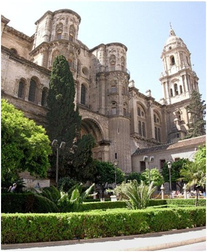 Málagan katedraali Costa del Sol aurinkorannikko loma matka