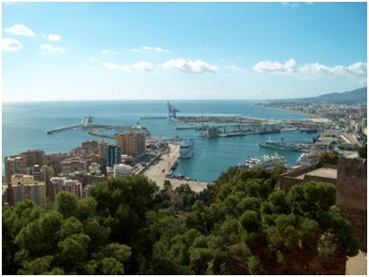 Malagan satama Costa del Sol aurinkorannikko loma matka