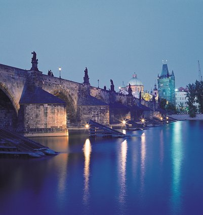 Historiallinen Kaarlen silta Tšekki Praha matka kuva loma