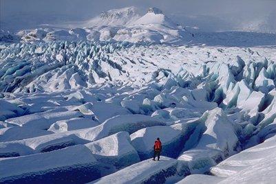 kuva Euroopan suurin yhtenäinen jäätikkö Vatnajökull  Islanti