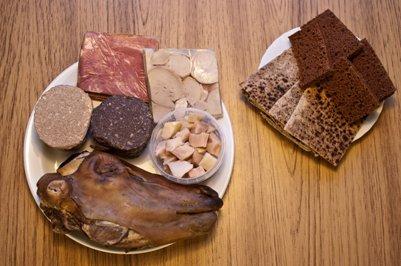 islantilainen Þorramatur ateria islantilainen ruoka keittiö
