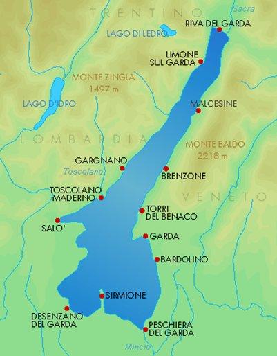 Gardajarvi Italia Matkaoppaat Gardajarvi Matka Info Loma Kuvia