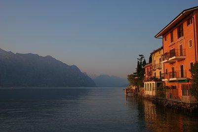 kuva Malcesine Gardajärvi Italia loma matka