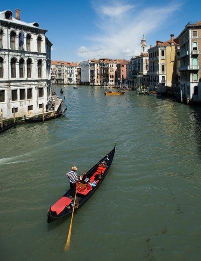kuva Grand Canal Venetsia Italia loma matka