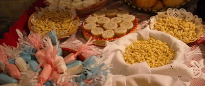 ruoka kuva - italialainen keittiö - sardinialaisia kakkuja  leivonnaisia ja makeisia
