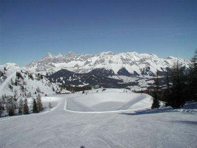 valokuva Itävalta Alpit Schladming hiihtomatka