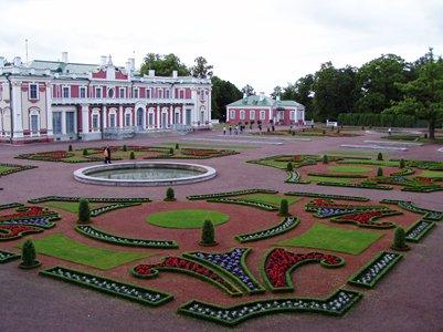Kadriorgin palatsi Tallinna Viro matkakuva