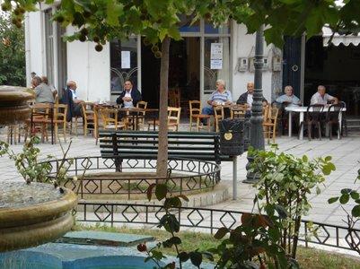 Perinteinen Kafeneíon-kahvila - Agios Nikolaos - Kreeta