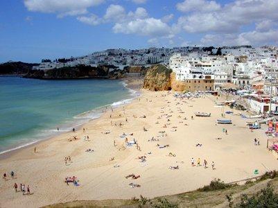 Kalastajan hiekkaranta Praia dos Pescadores - Albufeira - Portugali