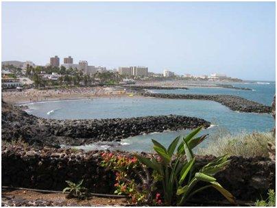Espanja Kanariansaaret Playa de las Americas Teneriffa matka