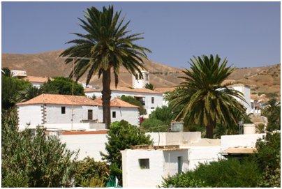 Espanja Kanariansaaret matkat Fuerteventura Betancurian historiallinen kaupunki