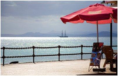 Espanja Kanarian saaret Lanzarote Playa Blancan kalastajakylä matkat