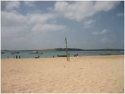 Kap Verde kuva Boa Vistan hiekkaranta Kap Verdell� loma uimaranta