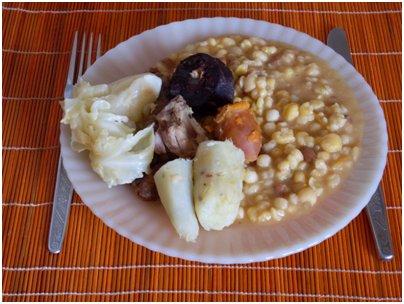 Kap Verde keittiö kap verdeläinen ruoka loma kapverdeläinen cachupa muhennos kuva