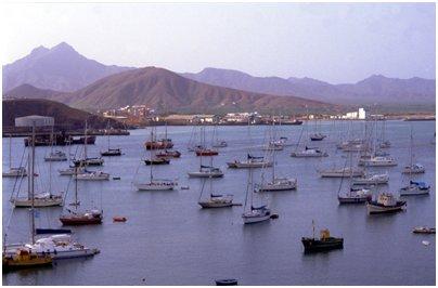 Kap Verde matka São Vicenten saari Mindelon satama