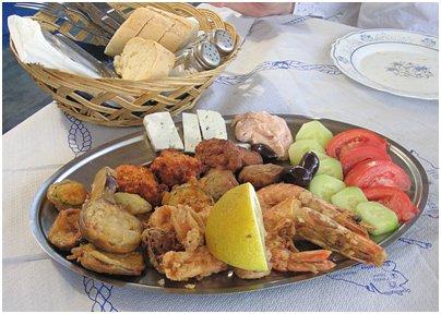 Kreikka Rodos kreikkalainen keittiö kreikkalainen ruoka
