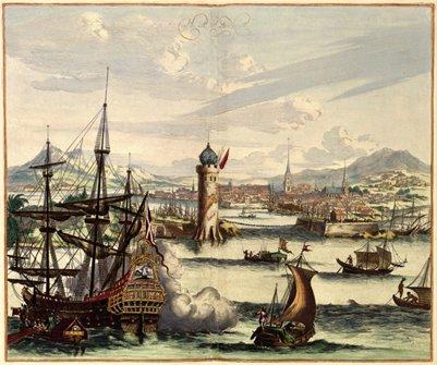 Kuuban Havanna 1600-luvulla maalaus