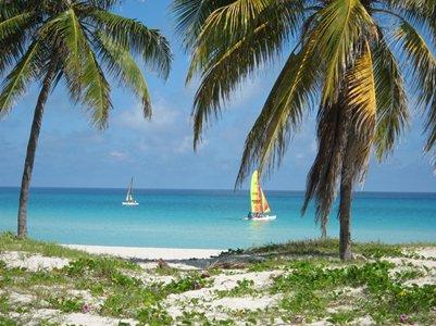 kuva Varaderon hiekkaranta Kuuba Karibia