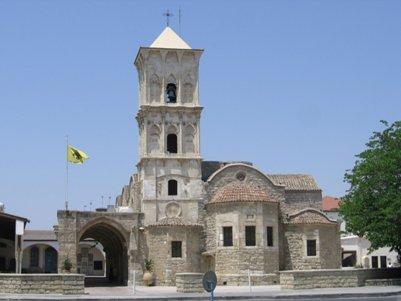 Larnaca Kypros Lazarus kirkko