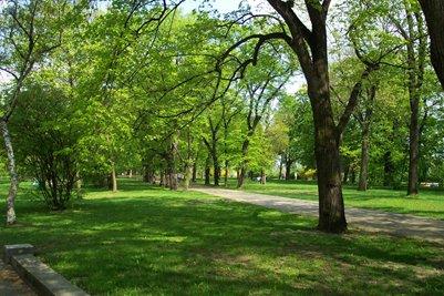 Letenske sady -puisto Letna Park Praha Tšekki