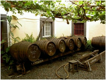 Madeiraviinin valmistustila Funchalissa