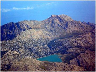 Espanja - Mallorca - Puig Major - vuorenhuippu