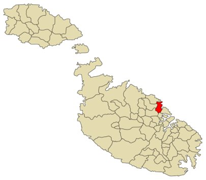 Malta Saint Julians sijainti
