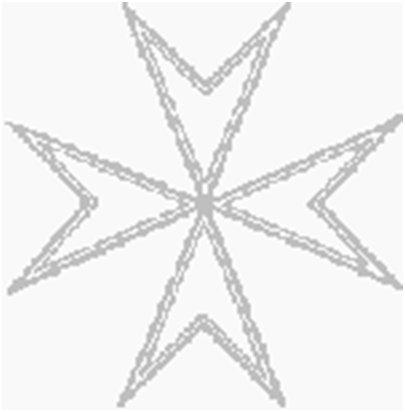 Malta kuva Johanniittojen risti eli maltanristi