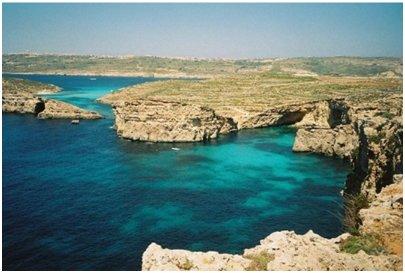 Malta loma matka kuva Sininen laguuni Cominon saarella