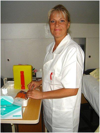 matkarokotus - sairaanhoitaja