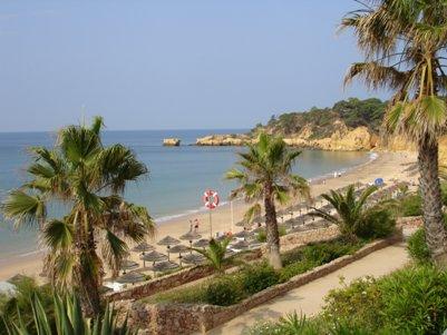 Monte Gordo matka Portugali Algarve loma