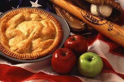 Omenapiirakka on suosittu amerikkalainen j�lkiruoka keitti� New York USA Yhdysvallat loma matka
