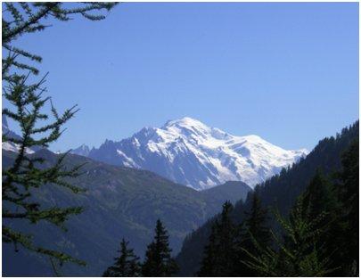 kuva Mont Blanc vuori Chamonix Ranskan Alpit