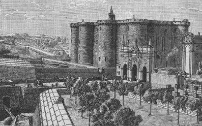 Ranska Pariisi Bastilji linna