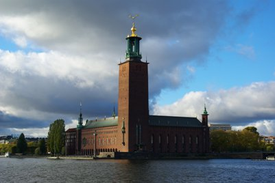 kuva Ruotsi Tukholma kaupungintalo matka